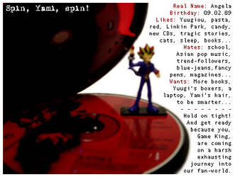 Spin, Yami, Spin by lanlan
