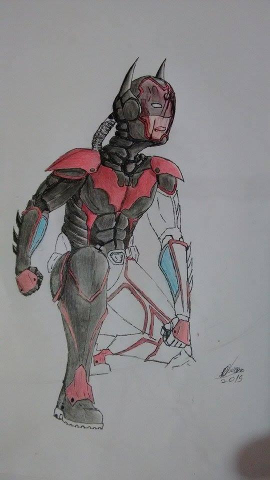batman's space suit by hmichel