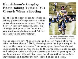 Cosplay Photo-takg. Tutorial 1 by Henrickson