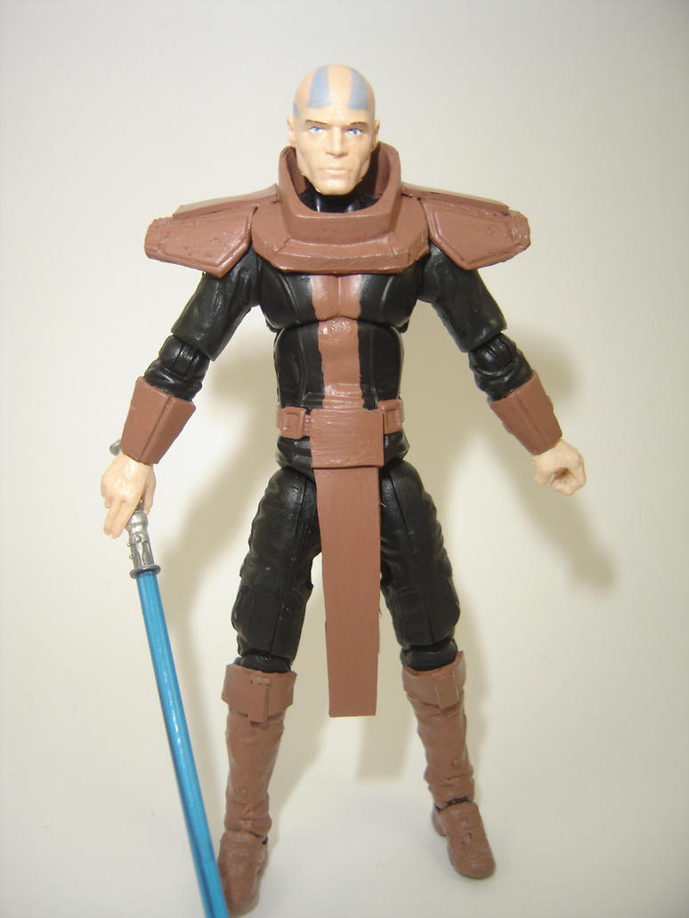 Custom Star Wars KOTOR Jedi Malak Action Figure by Mandalore2525