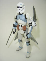 Custom Star Wars Clone Assassin Action Figure by Mandalore2525