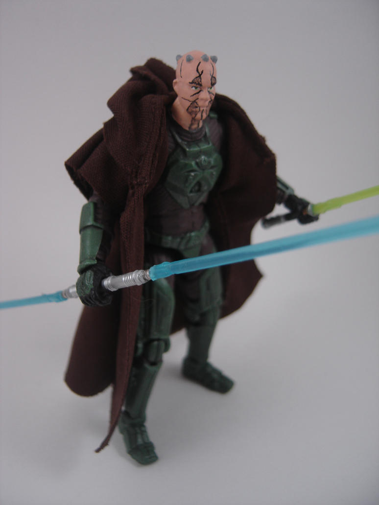 Custom Star Wars TOR Kao Cen Darach Action figure by Mandalore2525