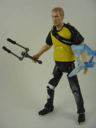 Custom 6in inFAMOUS 2 Cole MacGrath Action Figure by Mandalore2525
