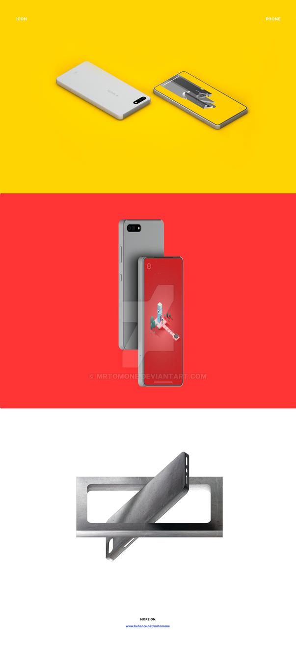 Icon Phone - Concept by mrtomone