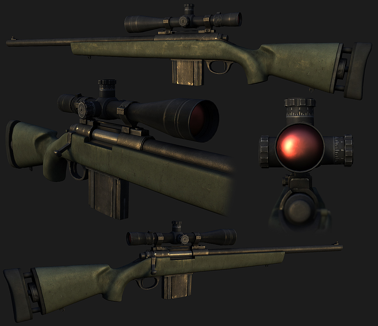 M24 Sniper Weapon by panick
