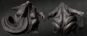 Fat Demon Render