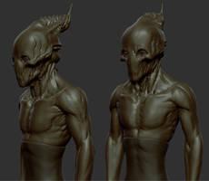 Alien WIP 1 by panick