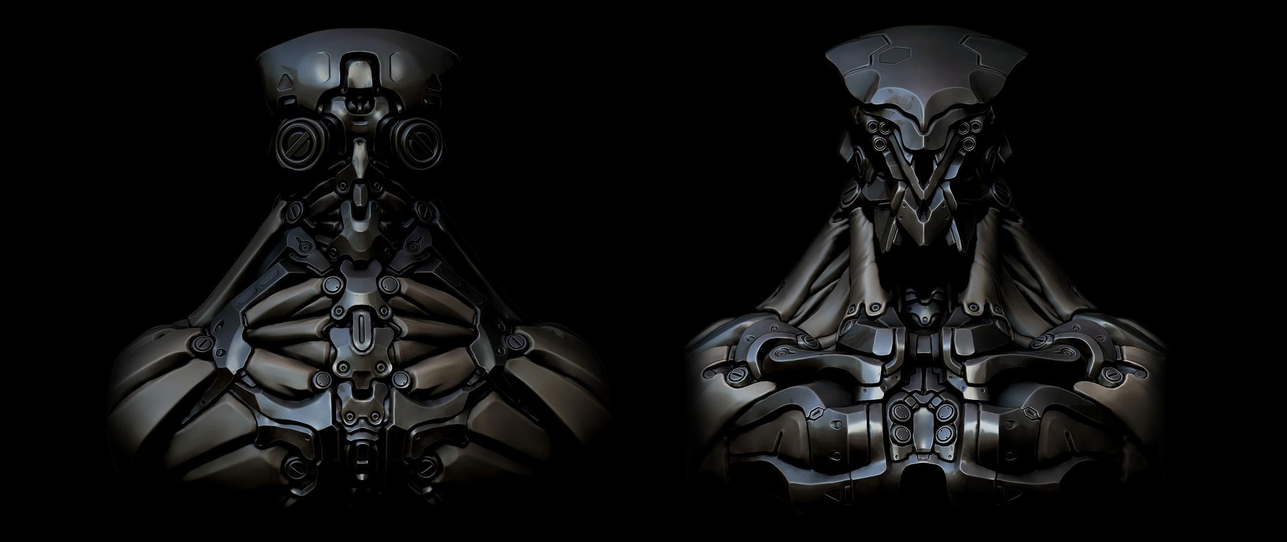 Robot Wallpaper (Clean version) by panick