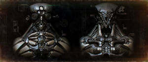 Robot Wallpaper (Dirty version) by panick