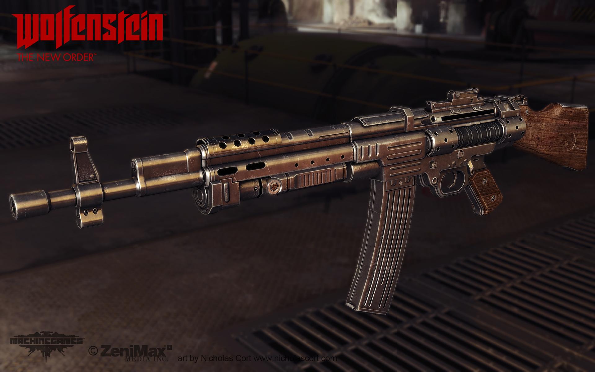 Assault Rifle 1946 by panick on DeviantArt