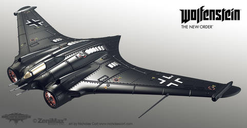 Axis Jet fighter Highpoly by panick