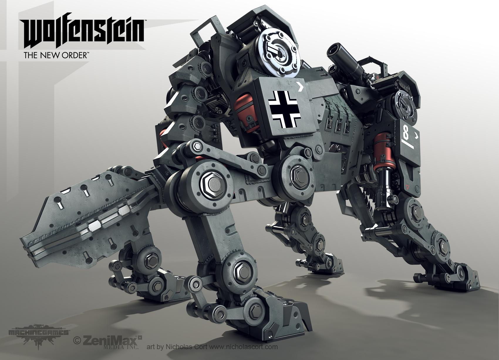 Wolfenstein  Robot Dog Not Panzerhund