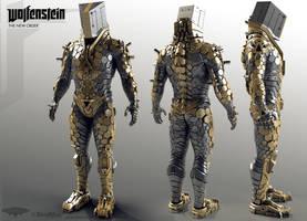 Power Armor Male Highpoly
