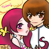 Precure HC Tsubomi and Itsuki by ioncry