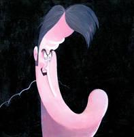 Bruce Campbell Caricature