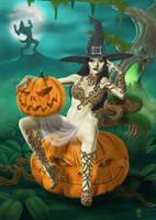 Pin-up Pumpkin by markg