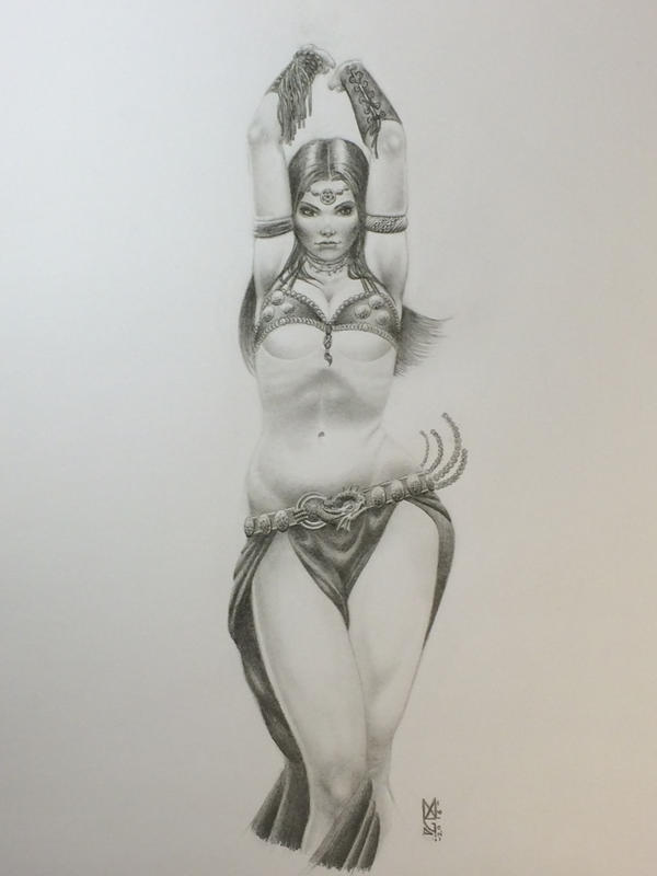 Fantasy Bellydancer by markg