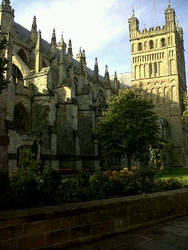 Exeter Cathedral by MakeAWishJustLikeMe