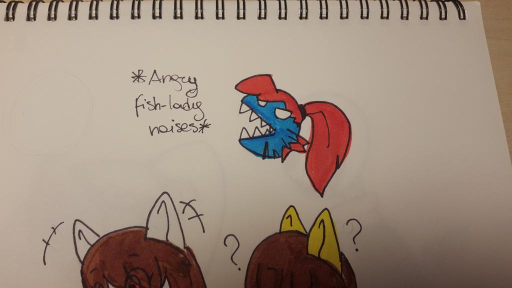 angry fish lady noises by maddiscordia410 on deviantart
