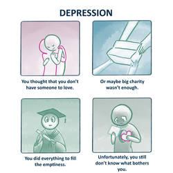 Depression - Emptiness (VIVA) by myoo89