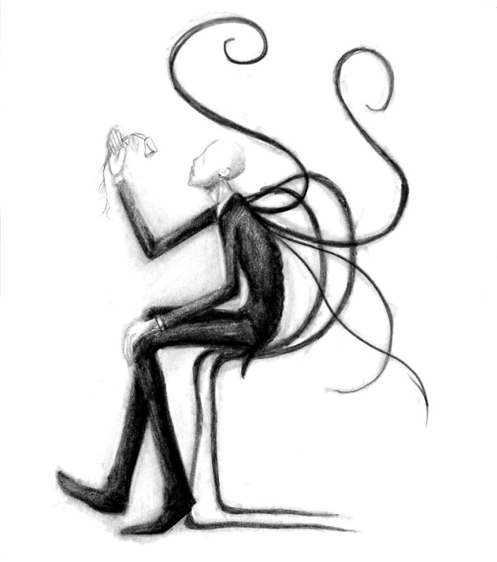 TheSlenderMan: Sad and Slender by ValWing