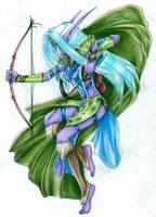 Courage in the Arrow by ValWing