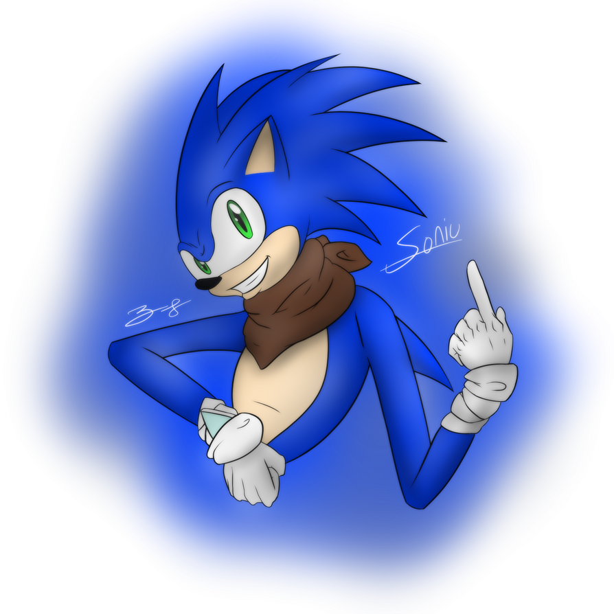 MuthaFaqkn Sonic by ZephyrFlash