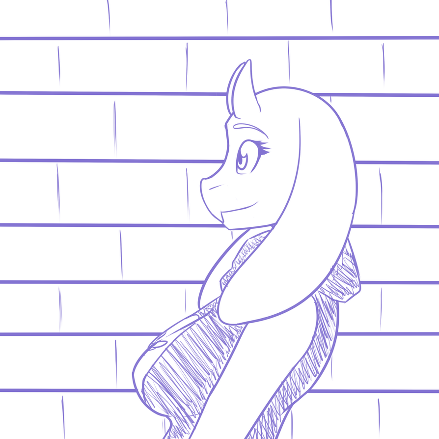 Toriel Sketch #2 by ZephyrFlash