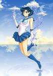Sailor Mercury (Ami Mizuno) by Vladta