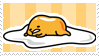 Gudetama stamp by MarianaSweety