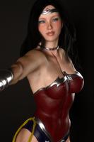 Wonder Woman Selfie by hitmanwa