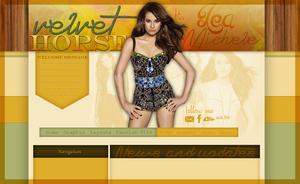Lea Michele layout 4 by VelvetHorse