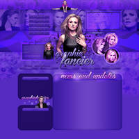 Anna Paquin layout 3 by VelvetHorse