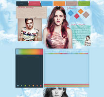 Kristen Stewart Design by VelvetHorse