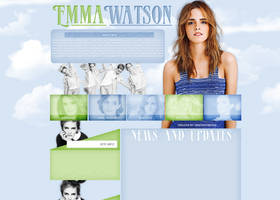 Emma Watson layout 5 by VelvetHorse