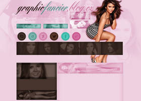 Nina Dobrev layout 3 by VelvetHorse