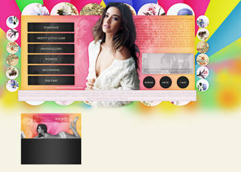 Shay Mitchel layout by VelvetHorse