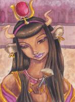 Hathor Redux by NibbleKat