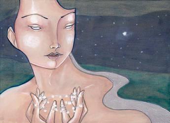 She Hangs the Stars by NibbleKat