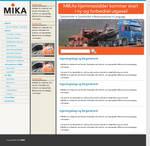 MIKA corporate website