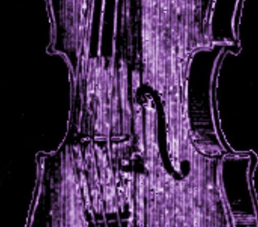 Violin Wallpaper: Purple Violin By Bloody-morning-after On DeviantArt