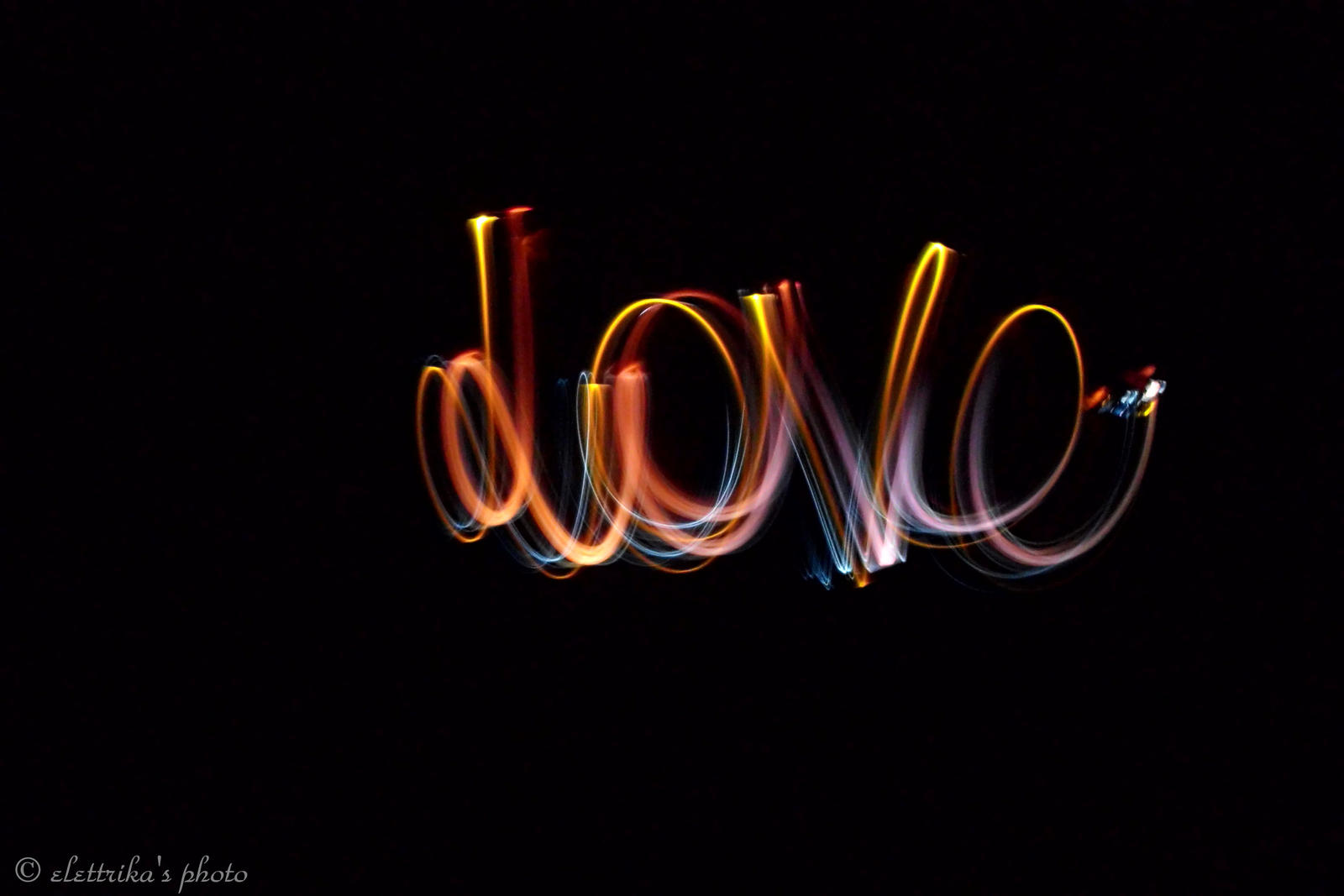 Love Light Painting Photography