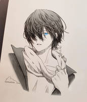 Yato from Noragami by LumiEclipse