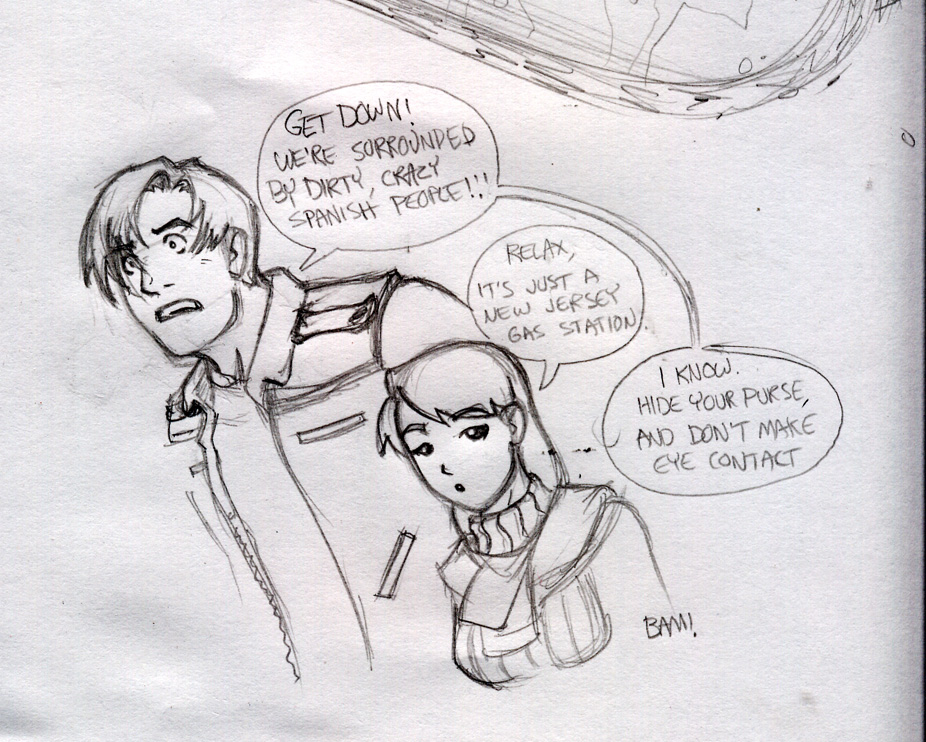 Resident Evil 4 Sketch By Magilla Da Killah On Deviantart