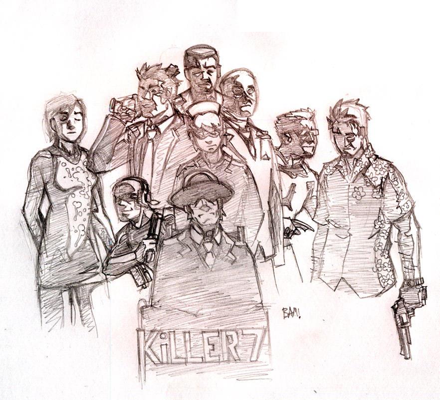 Killer 7 collage by Magilla-da-Killah