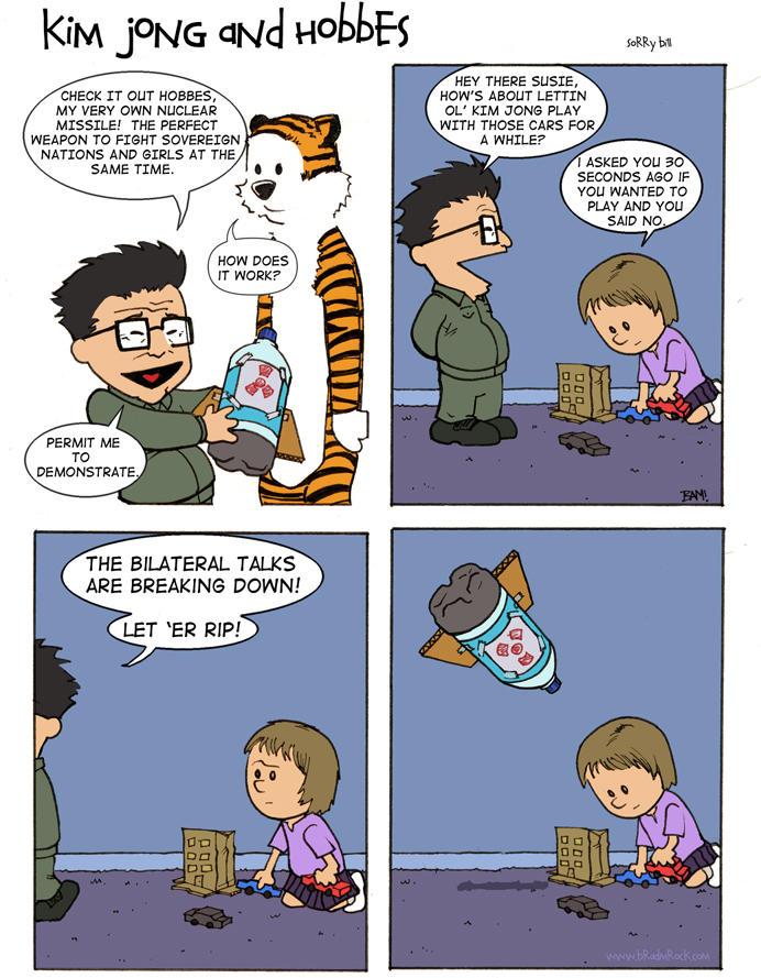 Kim Jong and Hobbes by Magilla-da-Killah