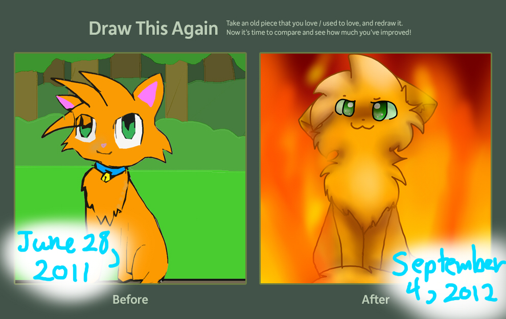 Draw This Again Challenge Contest by chiatten