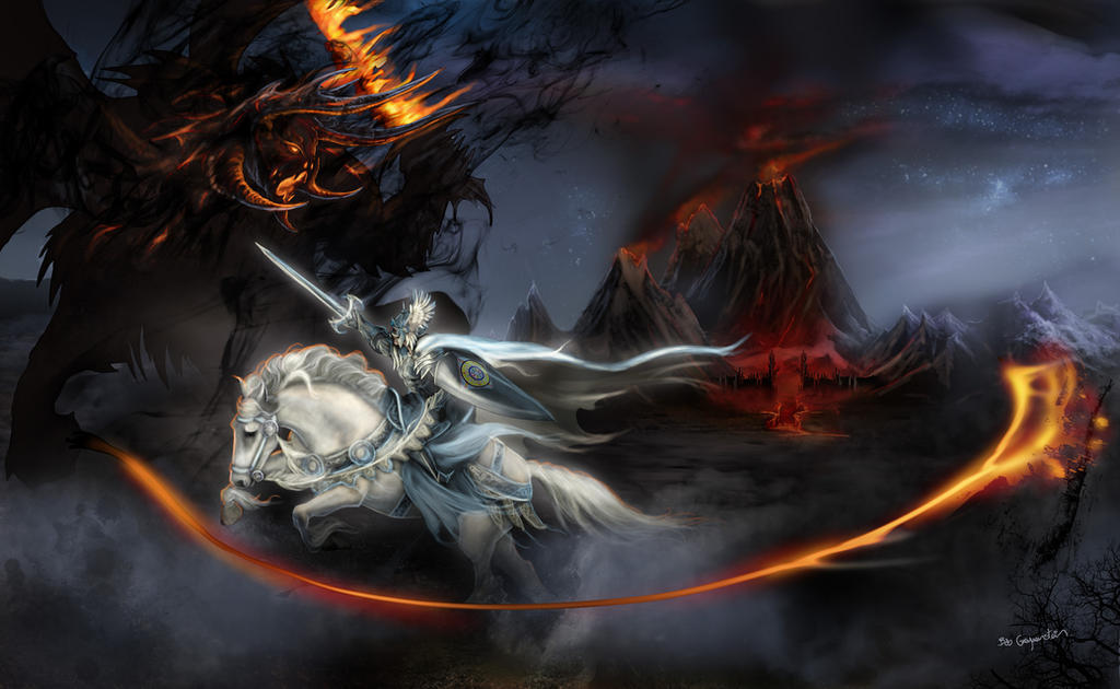 Feanor VS Gothmog, Lord of Balrogs by bobgreyvenstein on ...
