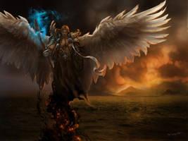 Winged God by bobgreyvenstein