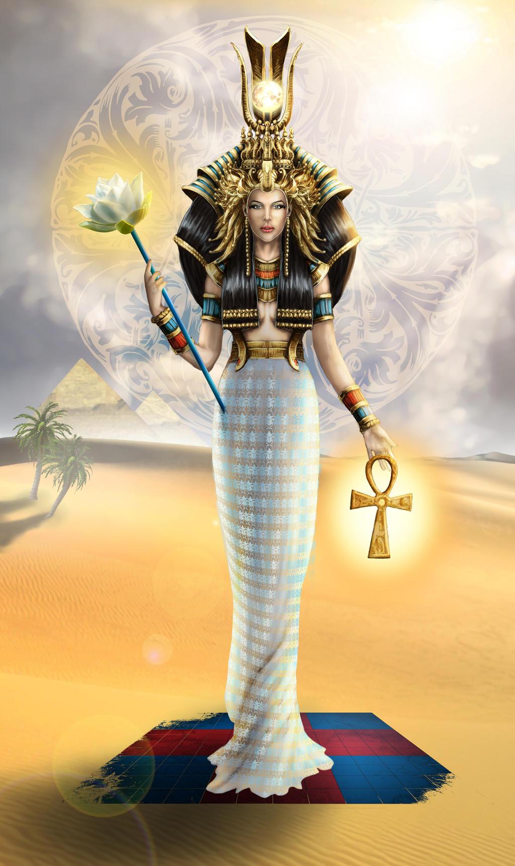 egypt Iside, la Signora della Conoscenza - by bobgreyvenstein DeviantArt (2015-2017) © dell'autore